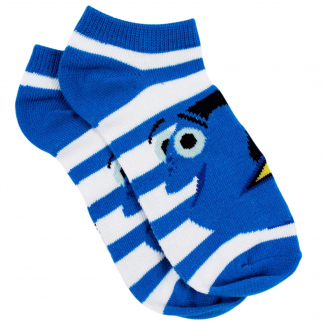 Disney Pixar Blue Striped Dory Ankle Socks