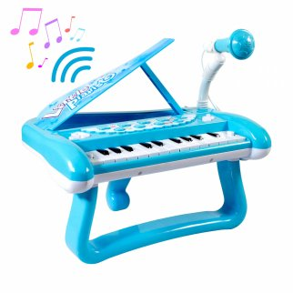 Little Pianist Lets Sing Playtime Musical Piano Microphone