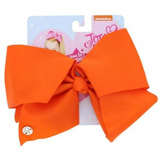 Nickelodeon JoJo Siwa Girls Large Hair Clip Style Bow Tangerine Hair Accessory