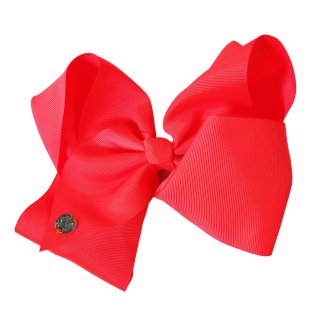Nickelodeon JoJo Siwa Girls Large Neon Coral Bow Kids Style