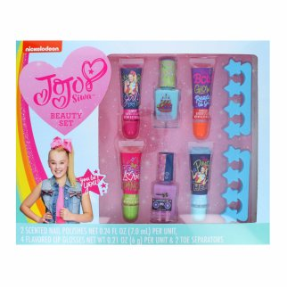 Nickelodeon JoJo Siwa Beauty Lip and Nail Accessory Gift Set