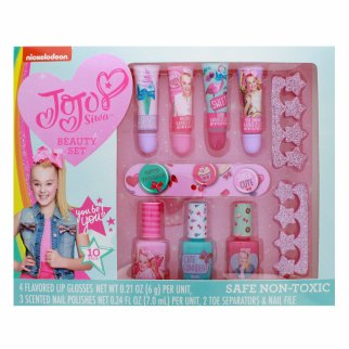 Nickelodeon JoJo Siwa Girls Swag Cosmetics Beauty Set 10pc