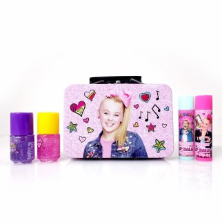 JoJo Siwa Girls Lip Balm and Nail Polish Gift Set