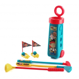 Jake & The Neverland Pirates Pretend Play Golf Set Just like Dad