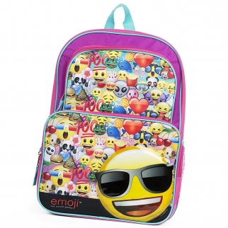 Emoji Kids 16 Inch Backpack