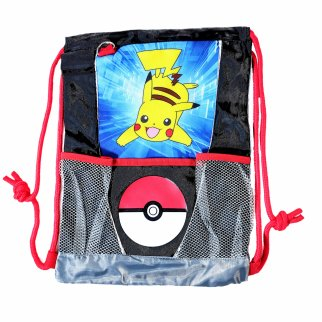 Nintendo Pokemon Sling Bag Kids Pikachu and PokeBall Tote