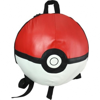 Pokemon Backpack Pokeball Shape Front View