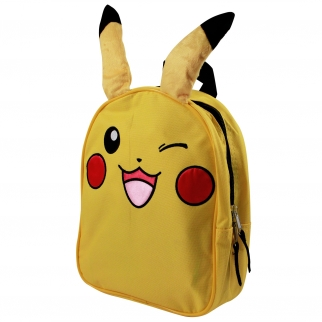 Nintendo Pokemon Kids Pikachu 10 inch Backpack with Ears
