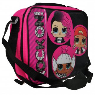 LOL Surprise Rock On Insulated Lunch Box Bag Shoulder Strap Kids School Tote