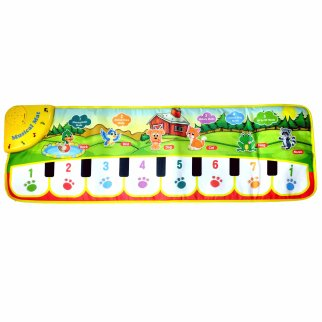 TychoTyke Kids Musical Play Mat Soft Carpet Indoor Toy