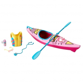 Barbie Let's Go Kayaking Accessory Set