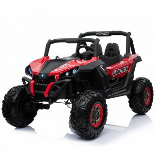 TychoTyke Kids Lightning UTV Ride On Spyder Red
