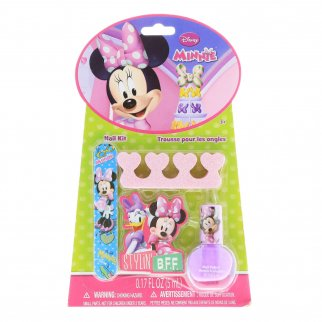 Minnie Mouse Complete Nail Kit 4 Piece Set