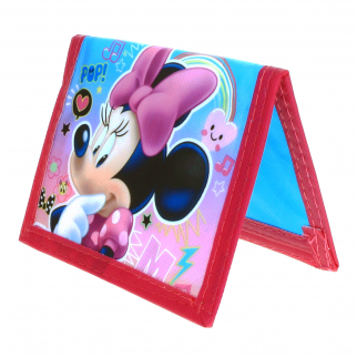 Disney Jr Minnie Mouse Non Woven Girls Bifold Wallet