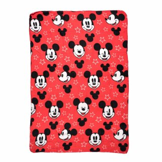 Disney Mickey Mouse Plush Fleece Throw Blanket 45 x 60 Inch