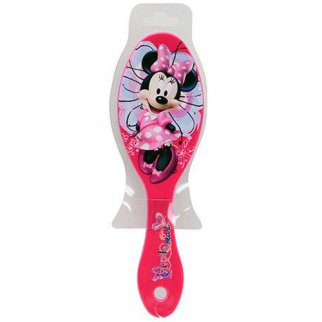 Minnie Mouse Girls Hair Brush Soft Bristles 7 Inch Small