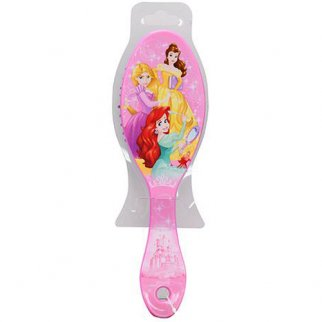 Disney Princess Girls Hair Brush Soft Bristles 7 Inch Small