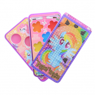 My Little Pony Girls Make Up Cosmetic Set Lip Gloss Smart Phone Style Case