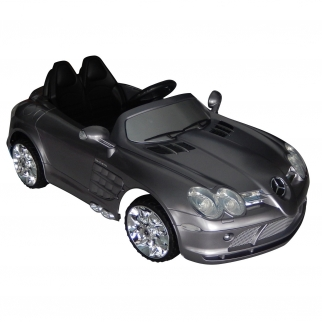 12V Mercedes Benz SLR Officially Licsensed Ride On - Silver