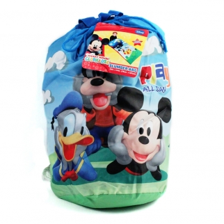 Mickey Mouse Sleeping Bag Back-pack for Slumber Parties