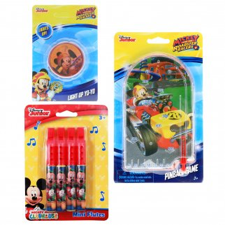 Mickey Mouse Kids Activity Game Gift Flutes Pinball Yo-Yo