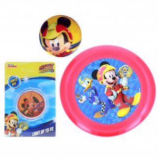 Mickey Mouse Kids Activity Game Gift Flying Disc Ball Yo-Yo