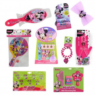 Minnie Mouse Girls Easter Gift Set Dress Up 9 Pieces