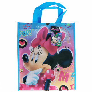 Kids Disney Minnie Reusable Medium Non Woven Tote Bag