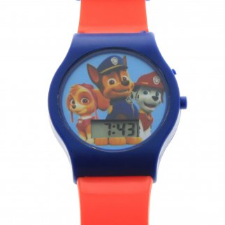 Nickelodeon Paw Patrol Boys LCD Wrist Watch Digital Style Adjustable Strap Red