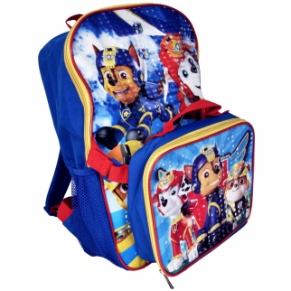 Paw Patrol Backpack and Lunch Pack