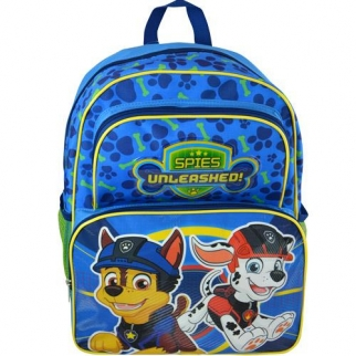 Paw Patrol Spies Backpack Featuring Chase and Marshall