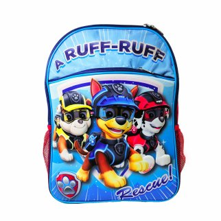 Nickelodeon Paw Patrol Kids School Backpack 16 Inch Tall
