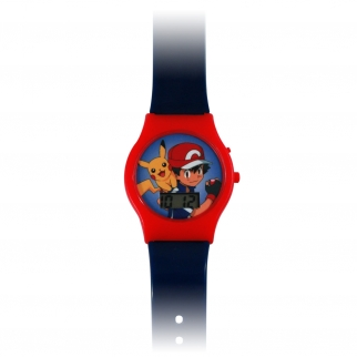 Digital Watch featuring Pikachu and Ash - Red Boy's Accessory