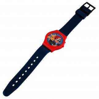 Digital Watch featuring Pikachu and Ash - Black Boy's Accessory