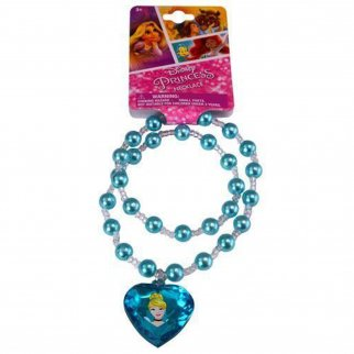 Disney Princess Girls Pearl Necklace Jewelry Cinderella