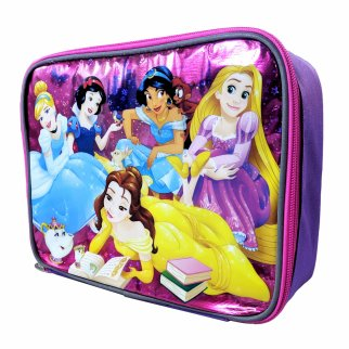 Disney Princess Girls Insulated Lunch Bag School Tote