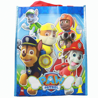 Paw Patrol Reusable 12 inch Non Woven Grocery Tote Bag
