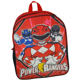 "Power Rangers 15"" Backpack Full View"