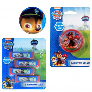 Paw Patrol Kids Activity Gift Set Yo-Yo Foam Ball Harmonicas