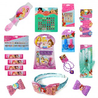 Disney Princess Girls Easter Gift Set Dress Up 11 Pieces