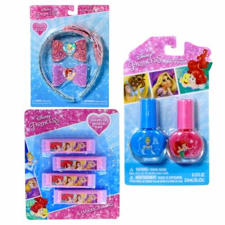 Princess Girls Dress Up Gift Set Headband Nail Polish 9pc