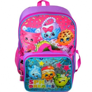 Backpack and Lunch Box Front View