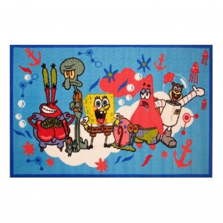 Spongebob and Friends Fun Rugs Area Rug Small