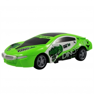 Bright Green RC Dinosaur Sports Car Boys Toy Gift