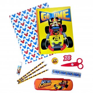 Disney Mickey Mouse Kids Stationery Set 11 Pieces