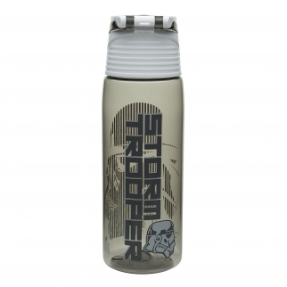 Gray White Storm Trooper Star Wars Rogue One 25oz spill proof Water Bottle