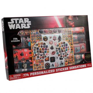 774pc Star Wars Sticker Mania Gift Set Retail