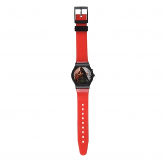 Disney Star Wars Kids LCD Digital Watch Stocking Stuffer - Red