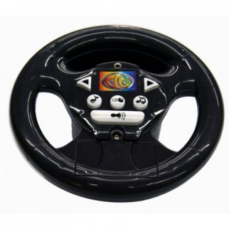 Ride On Car Replacement Interactive Steering Wheel 698R Musical Black