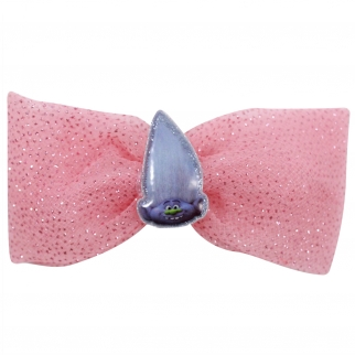 Glitter Pink Guy Diamond Hair Bow